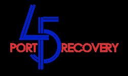 Port 45 logo
